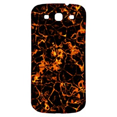 Fiery Ground Samsung Galaxy S3 S Iii Classic Hardshell Back Case by Alisyart
