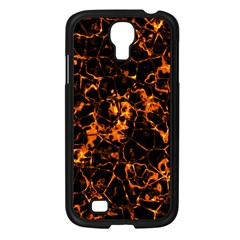 Fiery Ground Samsung Galaxy S4 I9500/ I9505 Case (black) by Alisyart