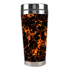 Fiery Ground Stainless Steel Travel Tumblers by Alisyart