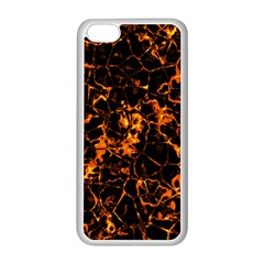 Fiery Ground Apple Iphone 5c Seamless Case (white) by Alisyart