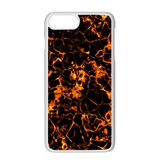 Fiery Ground Apple Iphone 7 Plus White Seamless Case by Alisyart