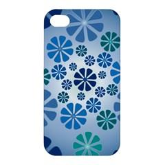 Geometric Flower Stair Apple Iphone 4/4s Premium Hardshell Case by Alisyart