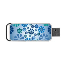 Geometric Flower Stair Portable Usb Flash (one Side) by Alisyart