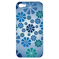 Geometric Flower Stair Apple Iphone 5 Hardshell Case by Alisyart
