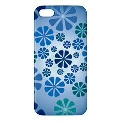 Geometric Flower Stair Iphone 5s/ Se Premium Hardshell Case by Alisyart