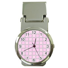Light Pastel Pink Money Clip Watches by Alisyart