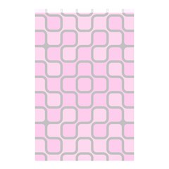 Light Pastel Pink Shower Curtain 48  X 72  (small)  by Alisyart