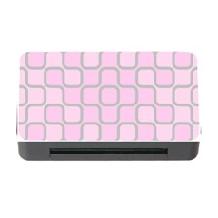 Light Pastel Pink Memory Card Reader With Cf by Alisyart