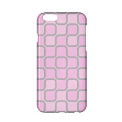 Light Pastel Pink Apple Iphone 6/6s Hardshell Case by Alisyart