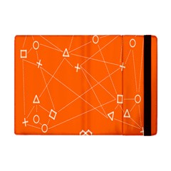 Leadership Deep Dive Orange Line Circle Plaid Triangle Apple Ipad Mini Flip Case by Alisyart