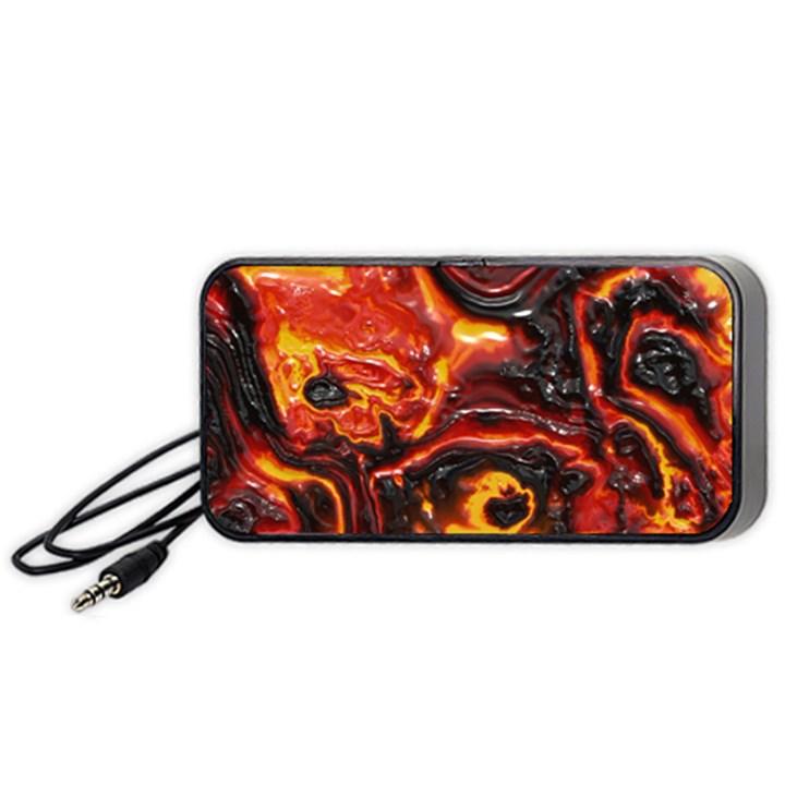 Lava Active Volcano Nature Portable Speaker (Black)