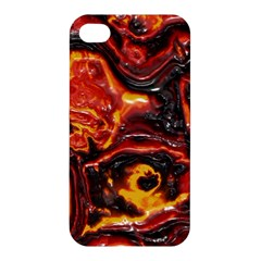 Lava Active Volcano Nature Apple Iphone 4/4s Premium Hardshell Case by Alisyart