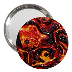 Lava Active Volcano Nature 3  Handbag Mirrors by Alisyart