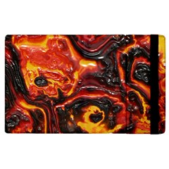 Lava Active Volcano Nature Apple Ipad 2 Flip Case by Alisyart