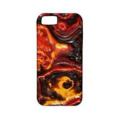 Lava Active Volcano Nature Apple Iphone 5 Classic Hardshell Case (pc+silicone) by Alisyart