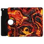 Lava Active Volcano Nature Apple iPad Mini Flip 360 Case Front