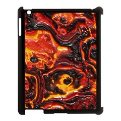 Lava Active Volcano Nature Apple Ipad 3/4 Case (black) by Alisyart