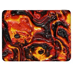 Lava Active Volcano Nature Samsung Galaxy Tab 7  P1000 Flip Case by Alisyart