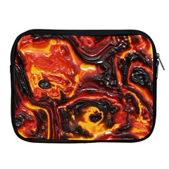 Lava Active Volcano Nature Apple Ipad 2/3/4 Zipper Cases by Alisyart
