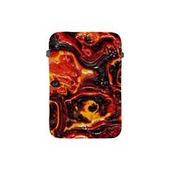 Lava Active Volcano Nature Apple Ipad Mini Protective Soft Cases by Alisyart