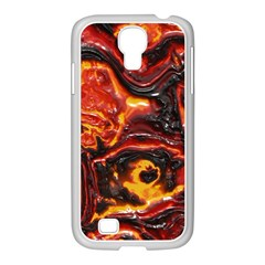 Lava Active Volcano Nature Samsung Galaxy S4 I9500/ I9505 Case (white) by Alisyart