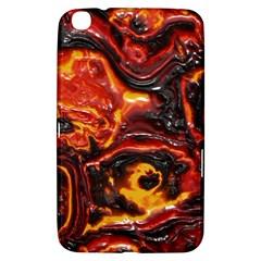 Lava Active Volcano Nature Samsung Galaxy Tab 3 (8 ) T3100 Hardshell Case  by Alisyart
