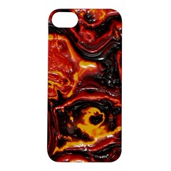 Lava Active Volcano Nature Apple Iphone 5s/ Se Hardshell Case by Alisyart