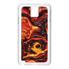 Lava Active Volcano Nature Samsung Galaxy Note 3 N9005 Case (white) by Alisyart