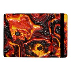 Lava Active Volcano Nature Samsung Galaxy Tab Pro 10 1  Flip Case by Alisyart
