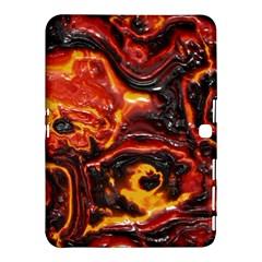 Lava Active Volcano Nature Samsung Galaxy Tab 4 (10 1 ) Hardshell Case  by Alisyart