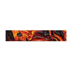 Lava Active Volcano Nature Flano Scarf (mini) by Alisyart