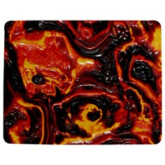 Lava Active Volcano Nature Jigsaw Puzzle Photo Stand (rectangular) by Alisyart