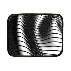 Metallic Waves Netbook Case (small)  by Alisyart