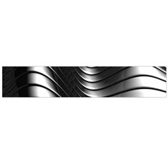 Metallic Waves Flano Scarf (large) by Alisyart