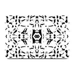Nums Seamless Tile Mirror Plate Mats by Alisyart