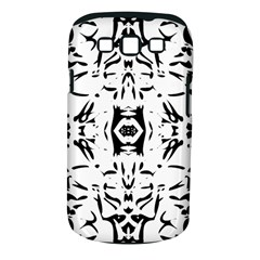Nums Seamless Tile Mirror Samsung Galaxy S Iii Classic Hardshell Case (pc+silicone)