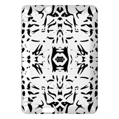 Nums Seamless Tile Mirror Kindle Fire Hdx Hardshell Case by Alisyart