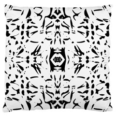 Nums Seamless Tile Mirror Standard Flano Cushion Case (one Side) by Alisyart