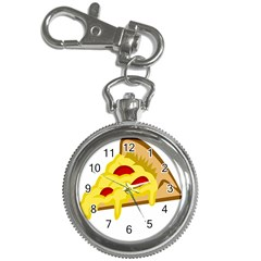 Pasta Salad Pizza Cheese Key Chain Watches by Alisyart