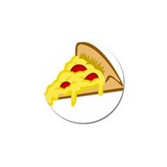 Pasta Salad Pizza Cheese Golf Ball Marker by Alisyart