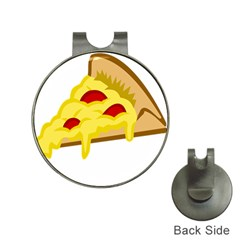 Pasta Salad Pizza Cheese Hat Clips With Golf Markers by Alisyart
