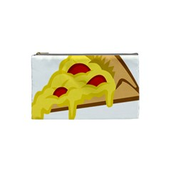 Pasta Salad Pizza Cheese Cosmetic Bag (small)  by Alisyart