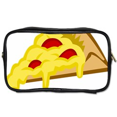 Pasta Salad Pizza Cheese Toiletries Bags by Alisyart