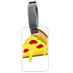 Pasta Salad Pizza Cheese Luggage Tags (two Sides) by Alisyart