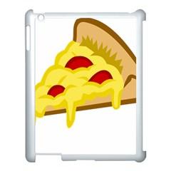 Pasta Salad Pizza Cheese Apple Ipad 3/4 Case (white) by Alisyart