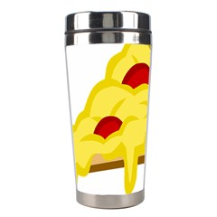 Pasta Salad Pizza Cheese Stainless Steel Travel Tumblers by Alisyart