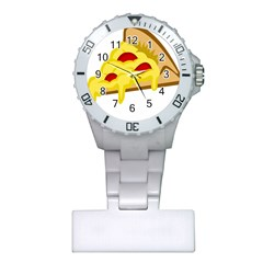 Pasta Salad Pizza Cheese Plastic Nurses Watch by Alisyart