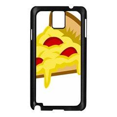 Pasta Salad Pizza Cheese Samsung Galaxy Note 3 N9005 Case (black) by Alisyart
