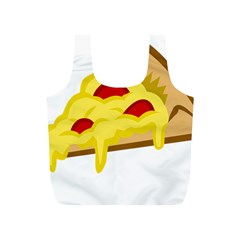 Pasta Salad Pizza Cheese Full Print Recycle Bags (s)  by Alisyart