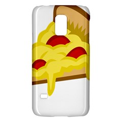 Pasta Salad Pizza Cheese Galaxy S5 Mini by Alisyart